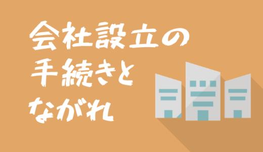 【手続きのながれ】株式会社の設立手順・所要期間・費用について